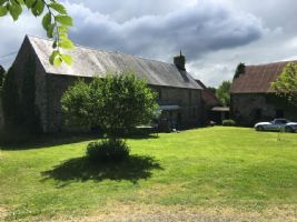 Farmhouse with gite outbuildings campsite and land