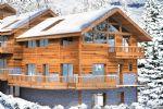 Superb off-plan 4 en-suite bedroom ski out chalet under construction (A)