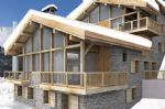 Brand new off-plan 5 bed chalet, ski in and out, within outstanding new development (M)