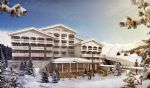 Superbly located 1 bed+cabine leaseback apartment, ski in+out, opposite Aquacentre in 1650 (M)
