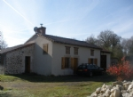 Beautifully renovated farmhouse, sitting on its own in the middle of 15 acres.
