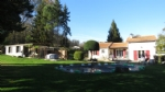 Gorgeous bungalow with gite and heated pool.