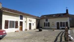 Beautifully renovated fermette, plus gite and big barn.