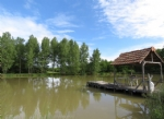 Lake of 1.5 acres in plot of 3.5 acres.