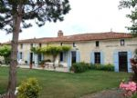 South Charente countryside, no neighbours. Character property in three-quarter acre grounds.