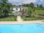 Villa with pool, 4 bedrooms, potential gite, fabulous views