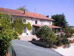 Aubeterre. Tourist village for sale. Main house plus 5 gites, tennis, 3 pools and barn.