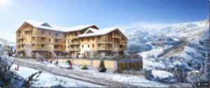 Leaseback apartments in Les Menuires, Three Valleys