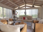 Main house and guest house on a land 18000m2  with a river