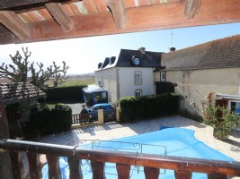 A handsome home with gite and pool set in 7500m² of grounds.