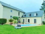 Charming big village house with swimming-pool.