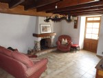 Three bedroom  village house in the centre of Chéronnac.