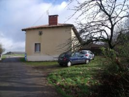2 bedroomed house 75m², plot size 1752m²