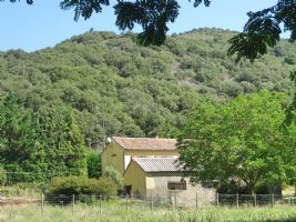 Restored farmhouse in the countryside on beautiful 1,5 ha plot w views
