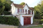 Small detached house, great views, nice village.