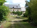 Merdrignac, magnificent manor house with gite on landscaped grounds, 10.6 acres