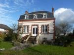 Elegant house, early 20th century, near mont saint michel