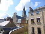 Prime location in center of dinan: charming 2 bedroom apartement with great view