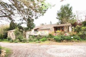 Farm, old stables 1850, 540m² on two levels, 5 bedrooms used in B&B plus 3 gites plus