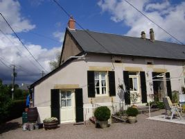 Lovely semidetached house with view in the Morvan, Burgundy
