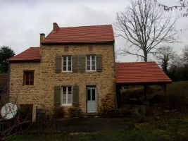 Pretty stone house in quiet hamlet