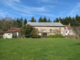 Large house with working B&B and gite, set in its own grounds with 2 lakes.