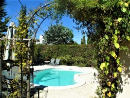 *Peacefull location for this character three bed villa with pool and gardens