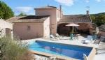 Spacious villa with stunning views near Pezenas.