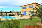 * Country house of standing with swimming pool, 5 rooms