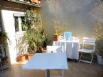 *Rare stone town house, two terraces in Ceret with Mount Canigou view