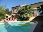 Stylish converted loft with 4 bedrooms and garden with pool.