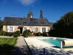 Fully and tastefully renovated 3 bed C/H Stone Longère, Garages, Pool and Garden