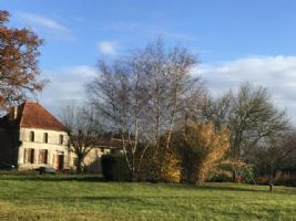 Detached character house with barn and large garden