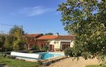 Pretty 4 bedroomed stone property with a pool