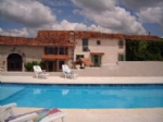 Gite complex (5 gites) with 5 bedroomed family house