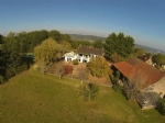 Charming views for house with pool, land and barn