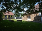 Converted barn, gite and over 1 hectare of land.