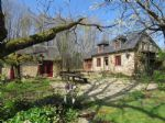 Charming house and gite in woodland setting with no neighbours
