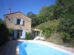 Holiday home with pool in quiet situation close to attractions