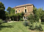Authentic stone property in peaceful setting with guest house