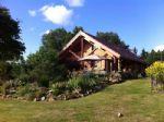 Pour un cadre de vie totalement buccolique et unique dans la region, maison en bois de 144 m2 hab