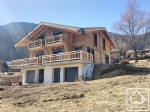 Modern chalet situated on a beautiful plot, in a residential area, with stunning views.