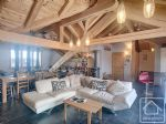 Recent loft extension with 3 ensuite bedrooms in the heart of Argentiere village.