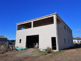 Spacious villa to finish with terrace and views on 2945 m² of which 1300 m² constructible.