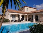 Beautiful new villa (2014) with 120 m² of living space on 601 m² of land, nice views and pool.