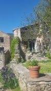 3 charming stone houses on 1155 m² with breathtaking views.
