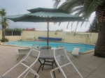 Detached villa with swimming pool, 300m from the beach.