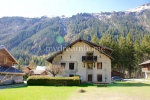 Semi detached farm house in Argentiere Chamonix Mont Blanc (74400) on building plot