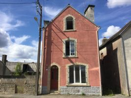 3 storey village house with small garden