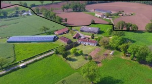 An attractive 28ha smallholding with guarenteed income and potential farming activity.